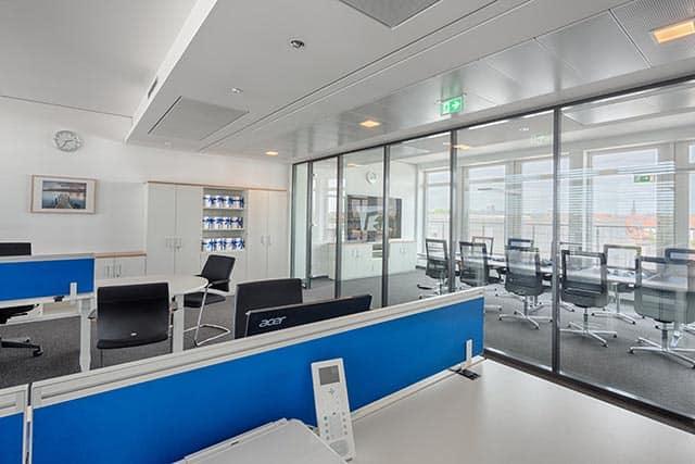 Büroausstattung Sichtschutz