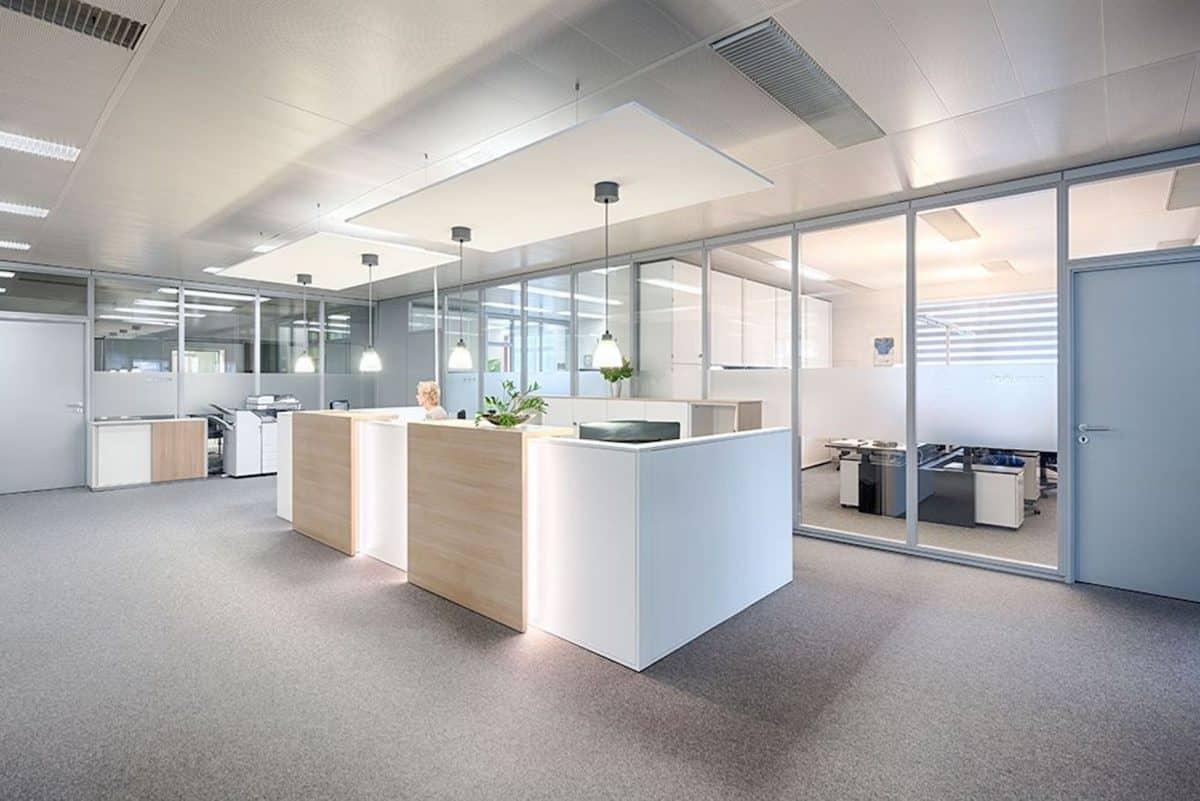 Büromöbel Empfangsbereich
