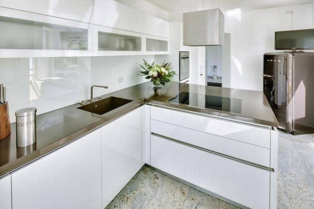 Küchentreff Einbauküche weiß